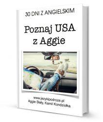 30 DNI z praktycznym angielskim – Poznaj USA z Aggie (e-book, kurs)
